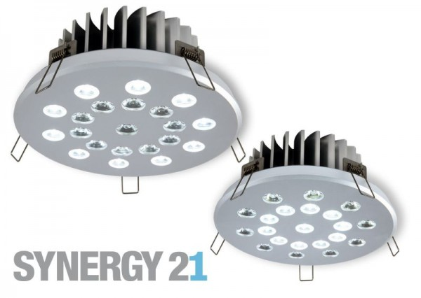 Synergy 21 LED Deckeneinbauspot S21 Dual nw(a)30° nw(i)30°
