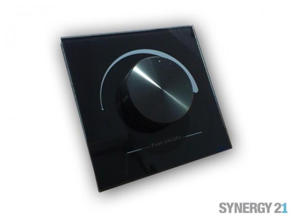 Synergy 21 LED Controller EOS 02 Funkdimmer Wandtaster schwarz
