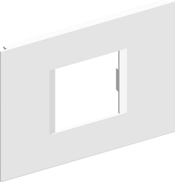 TEM Serie Modul Brüstungskanal COVER PLATE MA92 2/3M PW