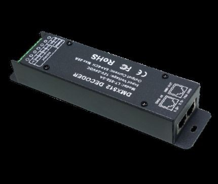 Synergy 21 LED Controller DMX 512 Slave RGBW 4*5A