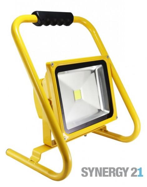 Synergy 21 LED AKKU Baustrahler 30W gelb/kaltweiß