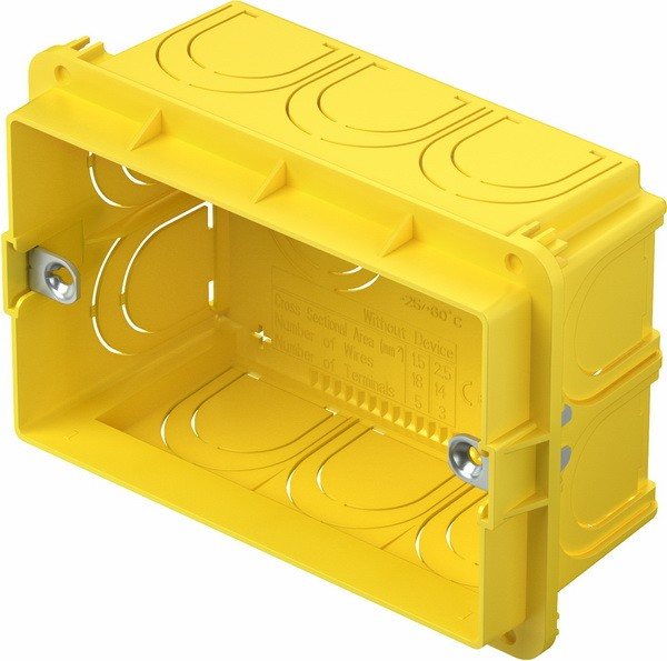 TEM Serie Unterputz Dosen RECTANGULAR BOX FOR BRICKPM3