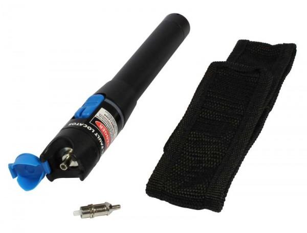 LWL Fiber Checker/Prüfer VFL für SM/MM für 1,25/2,5mm Ferrulen, bis ca. 5km, Tester, Synergy 21,