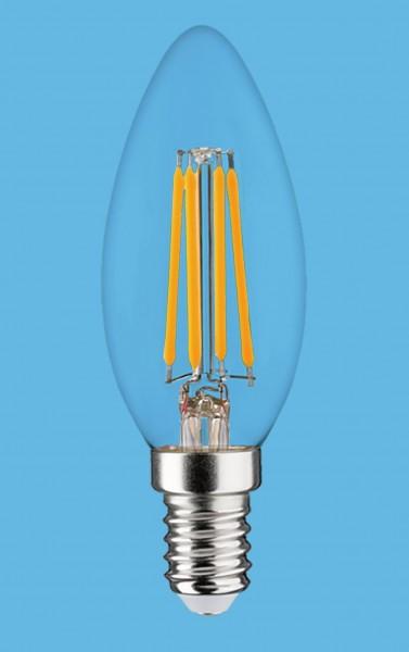 Synergy 21 LED Retrofit E14 Kerze milchig 4,5W ww dimmbar