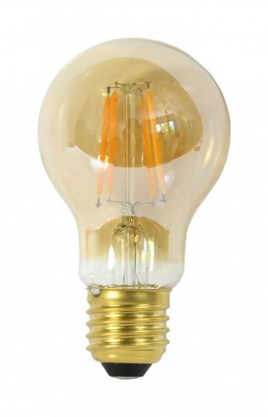 Synergy 21 LED Retrofit E27 A60 bulb 4W ww gold dimmbar