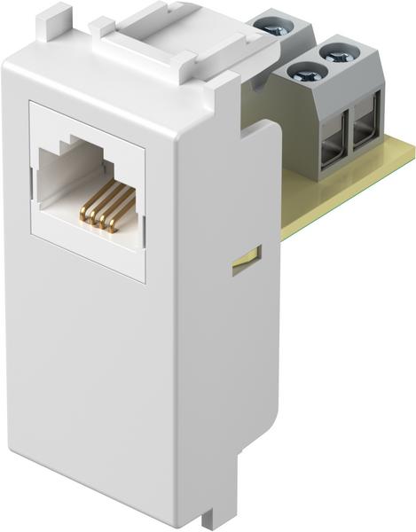 TEM Serie Modul Steckdosen SOCKET TEL LTRJ11 6/4 1M PW