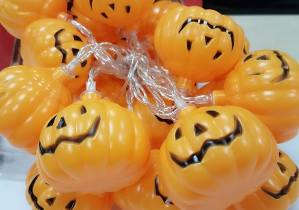 Synergy 21 LED Halloween Lichterkette 2m Pumpkin