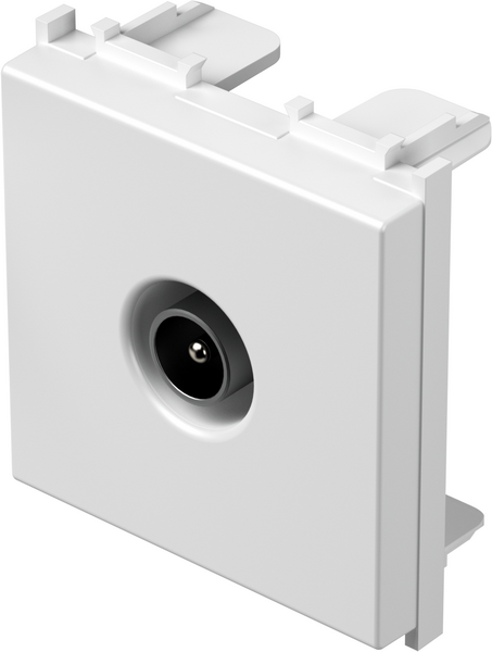 TEM Serie Modul Steckdosen SOCKET TV BASIC0dB 2M PW