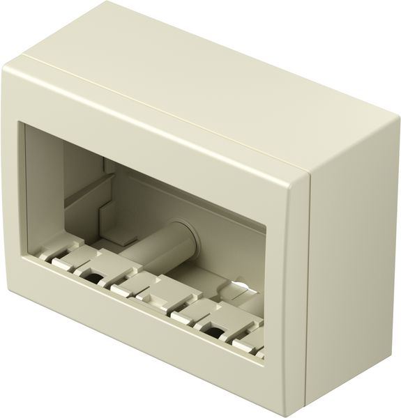 TEM Serie Modul Aufputzgehäuse IP20 BOX NO CUBO WITH BACK SIDE COV
