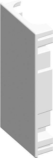 TEM Serie Modul Brüstungskanal STOP END MA130x65 PW