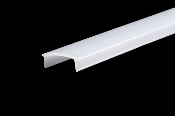Synergy 21 LED Profil Zubehör , Kunststoffabdeckung satinier