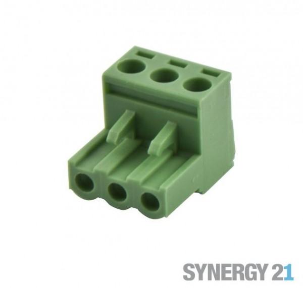 Synergy 21 LED zub Schraubklemme Phoenix Stecker 3 F
