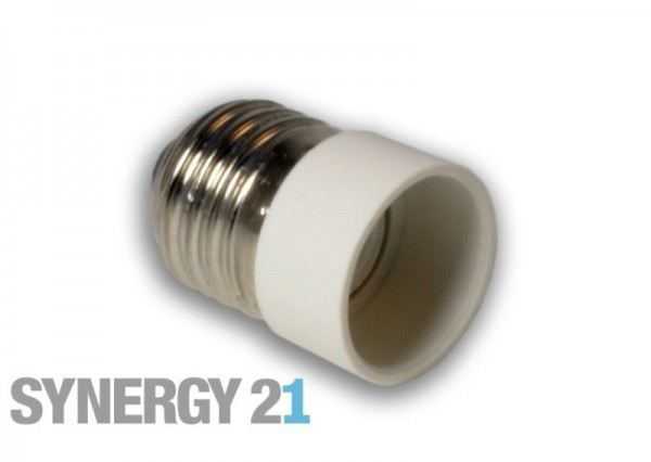 Synergy 21 LED Adapter für LED-Leuchtmittel E27->E14