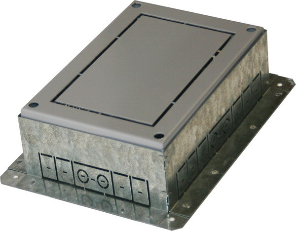 TEM Serie Modul Bodendose FLOOR BOX FLANGEMT 7 H=53mm