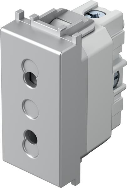TEM Serie Modul Steckdosen SOCKET EURO+KS2P 10A 250V~ 1M