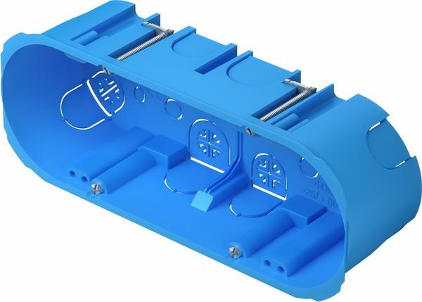 TEM Serie Unterputz Dosen RECTANGULAR BOX HOLLOW WALLVM 1*7
