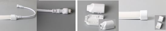 Synergy 21 LED Flex Strip NEON TB zub. Anschluss gerade