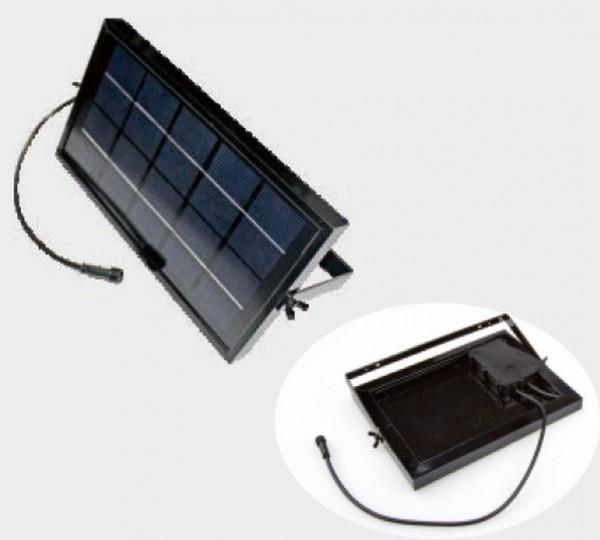 Synergy 21 LED Bodeneinbaustrahler ARGOS zub Solar Panel ink. Akku 20W