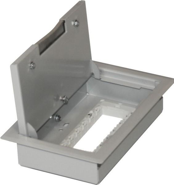 TEM Serie Modul Bodendose FLOOR BOXMT 7 H=53mm