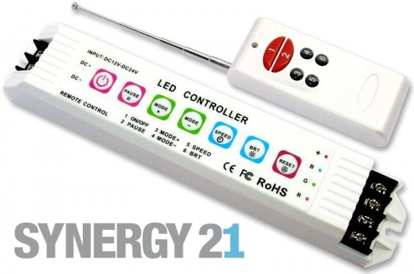 Synergy 21 LED Flex Strip RGB Controller DC12/24V -