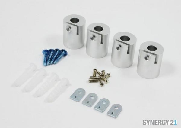 Synergy 21 LED light panel zub Montage Kit Zylinder für V1+V2 Panel weiß