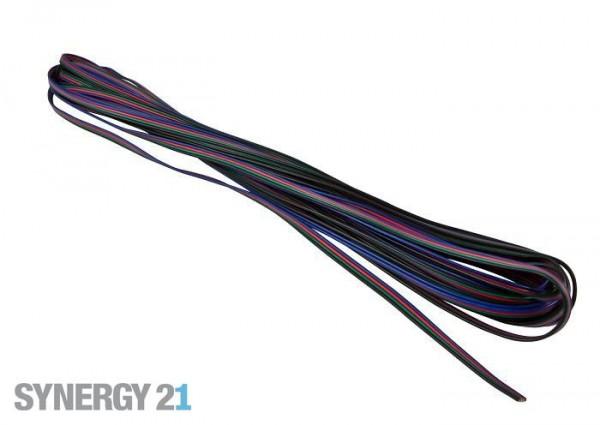Synergy 21 LED Flex Strip zub. Flachbandkabel RGB-WW 50m