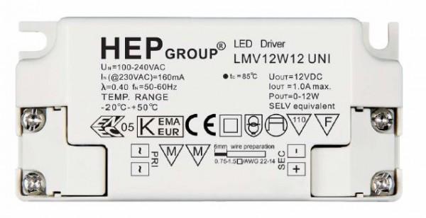 Synergy 21 LED Netzteil - 12V 12W - HEP