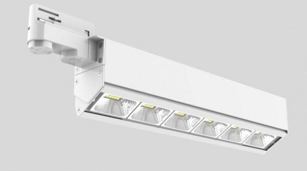 Synergy 21 LED Track-Serie für Stromschiene VLD-Serie 60W, 30°, ww, CRI>90