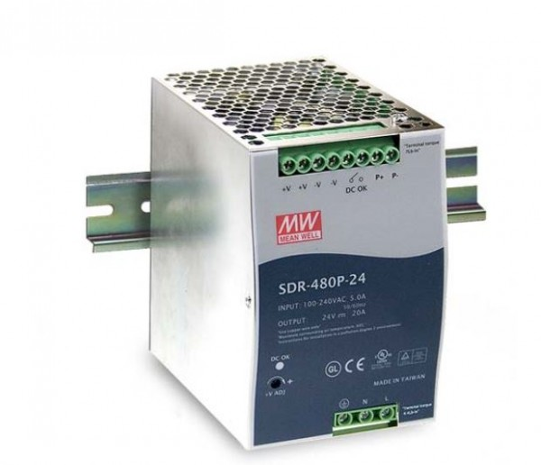 Synergy 21 Netzteil - 48V 480W Mean Well Hutschiene parallel Funktion
