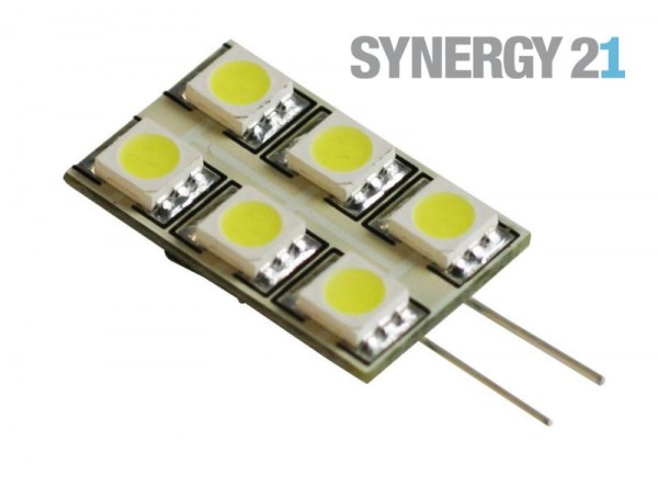 Synergy 21 LED Retrofit G4 6x SMD kaltweiß, rectangle
