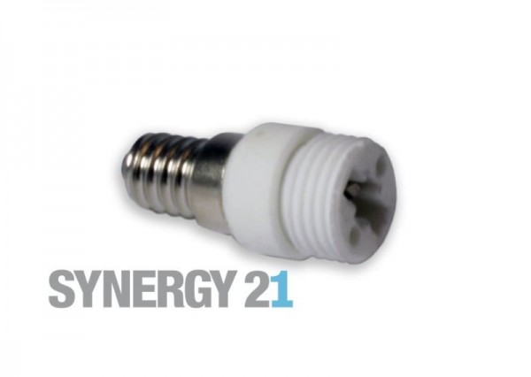 Synergy 21 LED Adapter für LED-Leuchtmittel E14->G9
