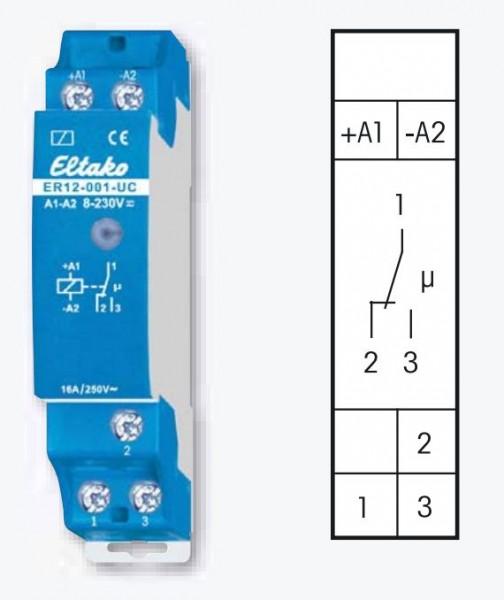 Eltako Schalt und Steuerrelais ER12-001-UC