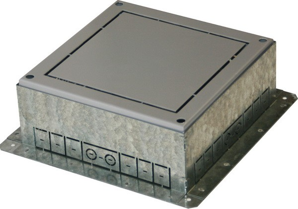 TEM Serie Modul Bodendose FLOOR BOX FLANGEMT 14 H=88mm