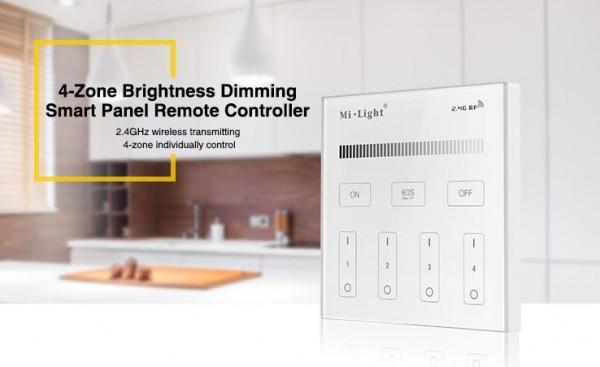 Synergy 21 LED Fernbedienung Smart Panel single color 4-Zonen *Milight/Miboxer*