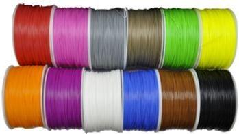 Synergy 21 3D Filament HIPS /solid / 3MM/ schwarz